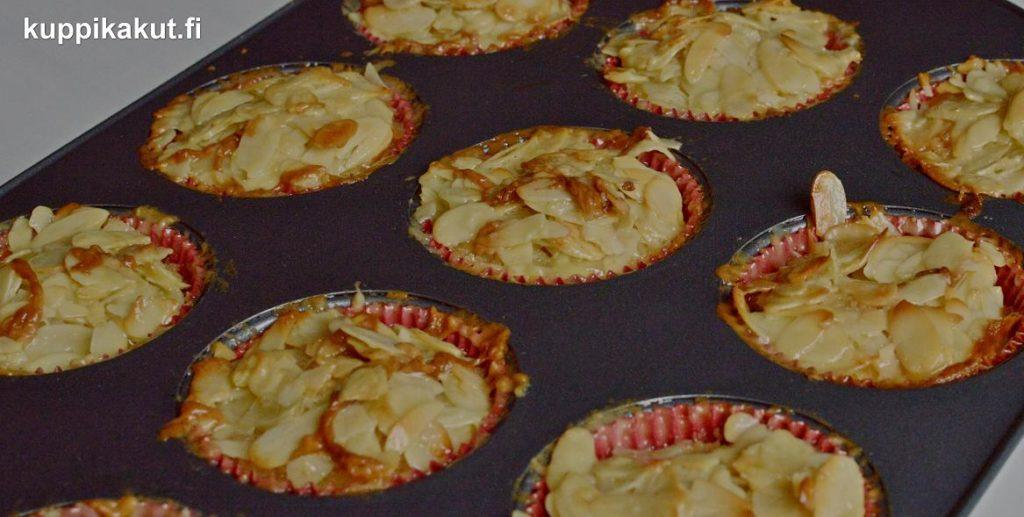 gluteenittomat omena-tosca-kuppikakut