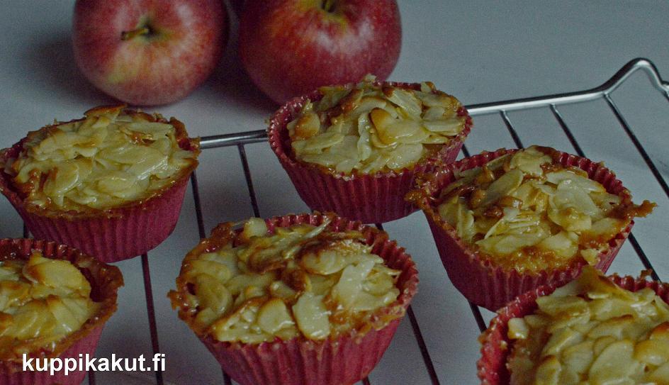 gluteenitton omena-tosca-kuppikakku